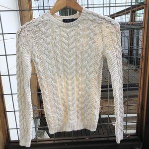 Ralph Lauren cream sweater